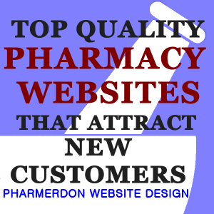 Pharmacy Website Design Ad