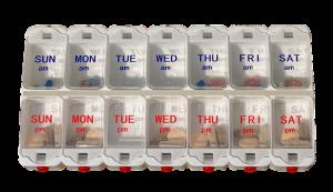 Pill Dispenser Organizer